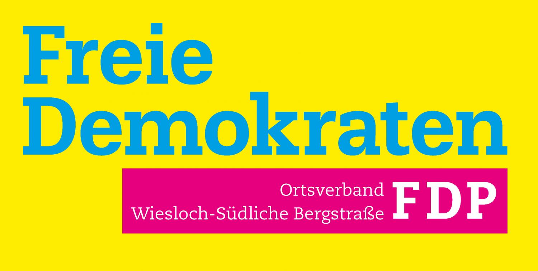 Logo des FDP-Ortsverbands Wiesloch-Südliche Bergstraße